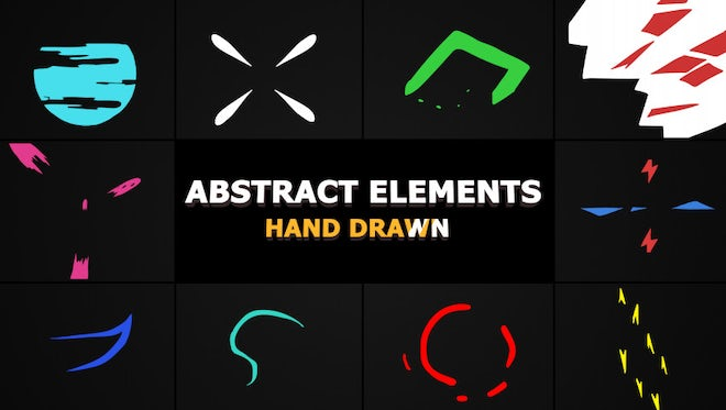 Flash FX Abstract Elements: Stock Motion Graphics
