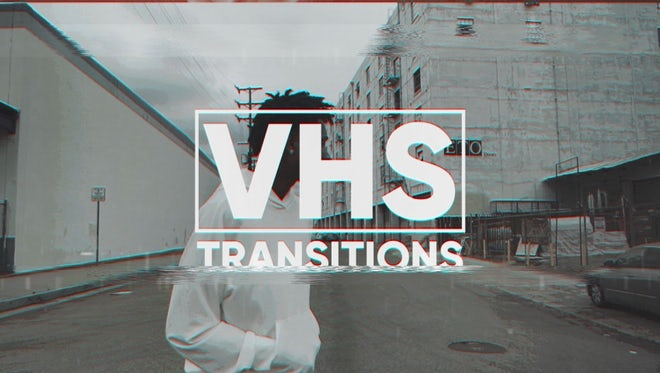 VHS Transitions: After Effects Templates