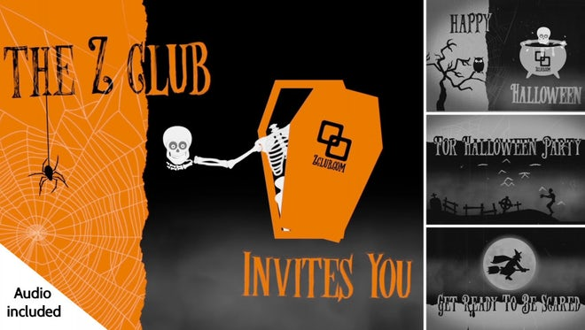 Halloween Mysteries: After Effects Templates