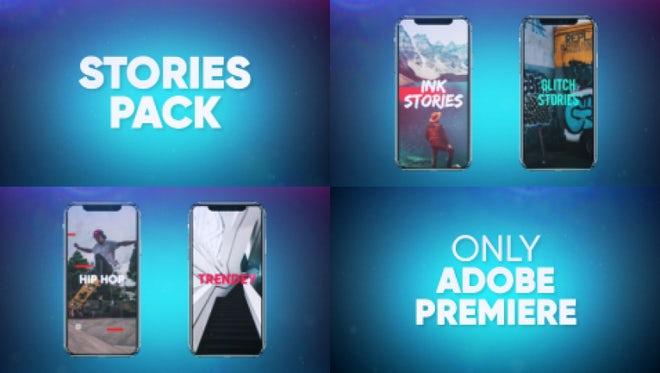 Stories Pack: Premiere Pro Templates