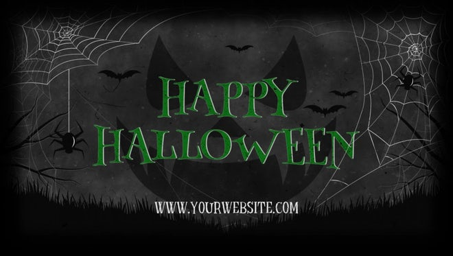 Halloween Party: After Effects Templates