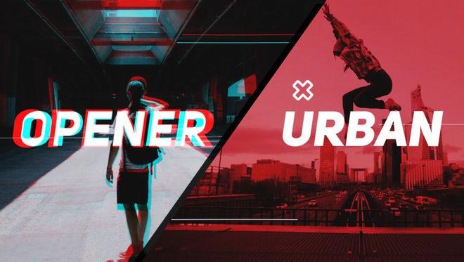 Stylish Urban Promo: Premiere Pro Templates