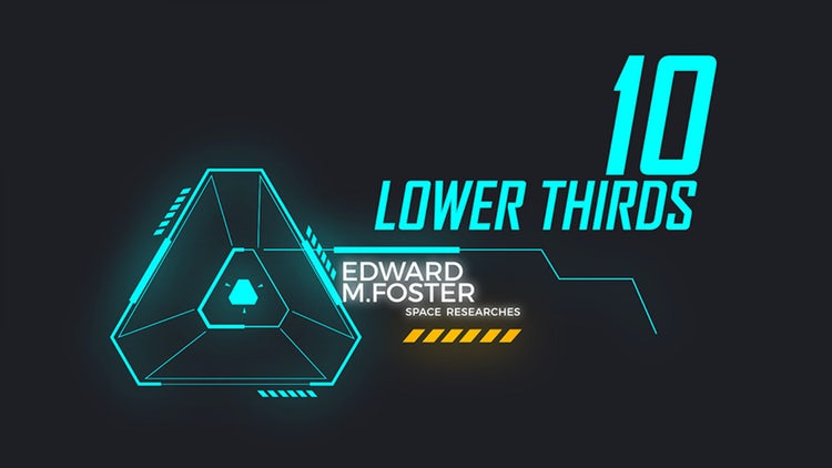Digital Lower Thirds: After Effects Templates