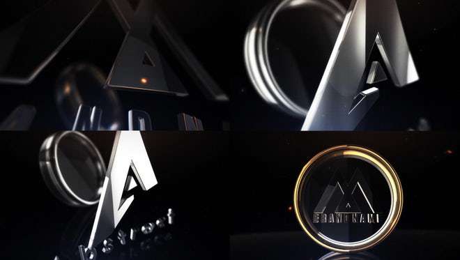 Clean And Stylish 3D Logo: After Effects Templates