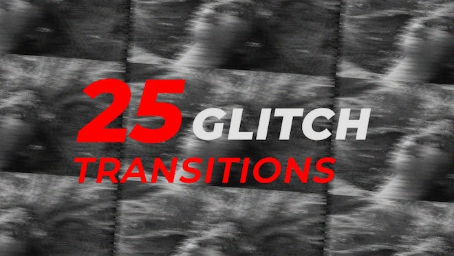 Glitch Transitions: After Effects Presets