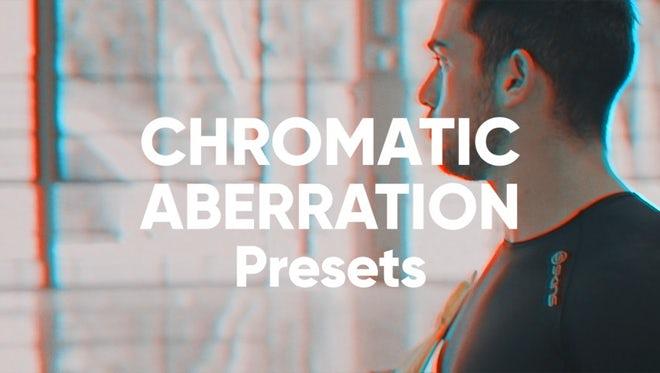 RGB Chromatic Aberration Presets: Premiere Pro Presets