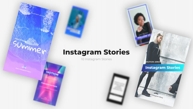 Instagram Stories v1.0: After Effects Templates
