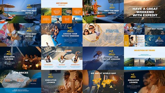Travel Agency Promo: After Effects Templates