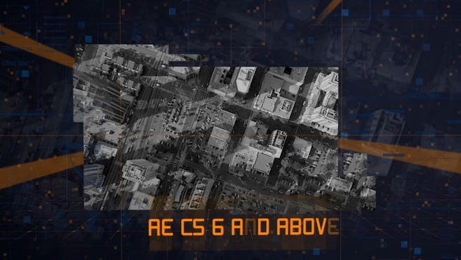 Technology Digital Slideshow: After Effects Templates