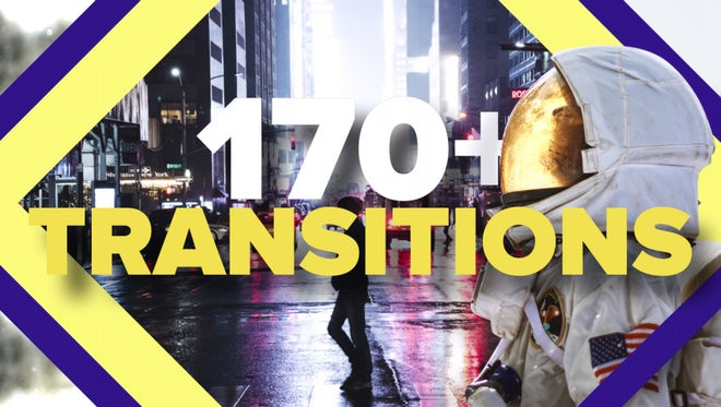Modern Transitions Pack: After Effects Templates