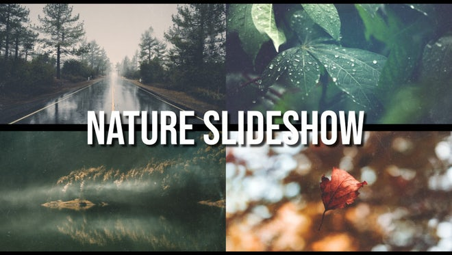 Nature Slideshow: After Effects Templates