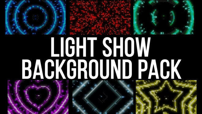 Light Show: Stock Motion Graphics