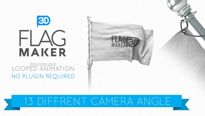 Flag Maker: After Effects Templates