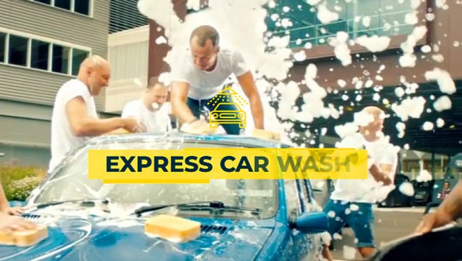 Car Wash Promo: After Effects Templates
