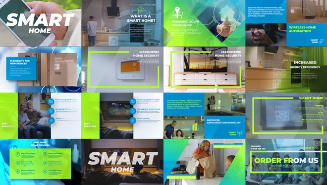 Smart Home: After Effects Templates