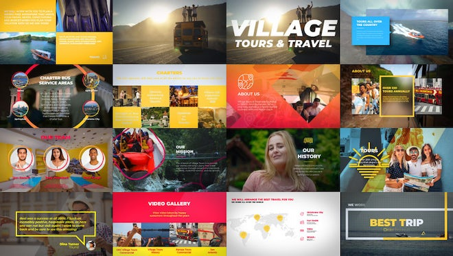 Tour Operator Promo: After Effects Templates