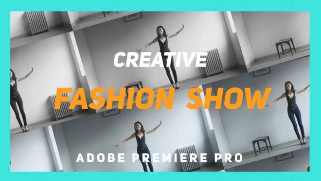 Creative Fashion Show: Premiere Pro Templates