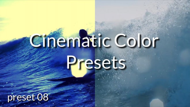 Cinematic Color Presets: Premiere Pro Presets