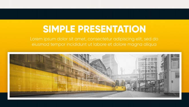 Corporate - Simple Presentation: After Effects Templates