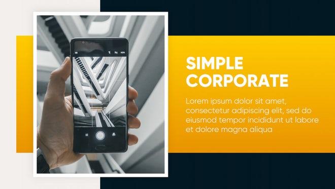 Corporate - Simple Presentation: Premiere Pro Templates