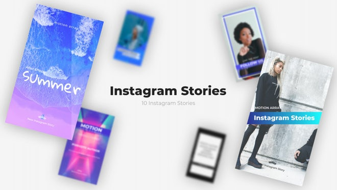 Instagram Stories v1.0: Premiere Pro Templates