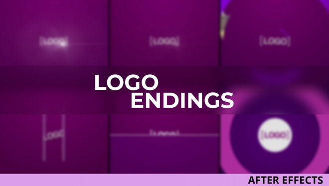Logo Endings: After Effects Templates