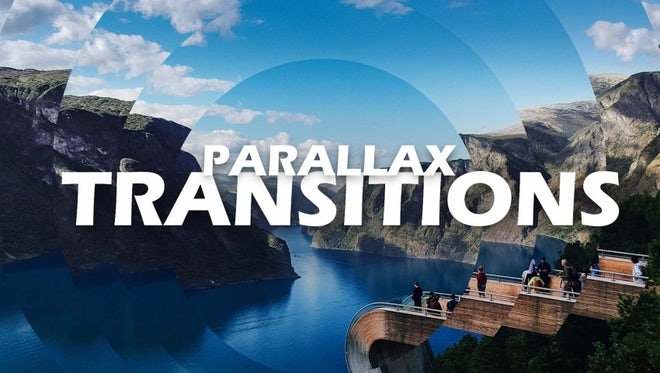 Parallax Transitions: Premiere Pro Presets