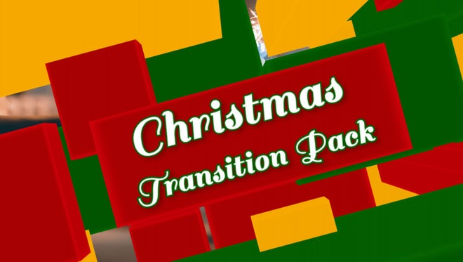Christmas 4K Transitions Pack: Stock Motion Graphics