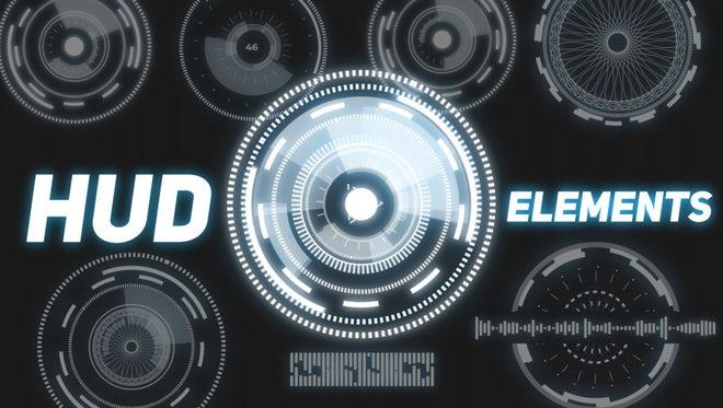 HUD Elements Constructor: Premiere Pro Presets