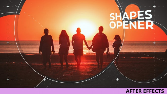 Shapes Opener: After Effects Templates