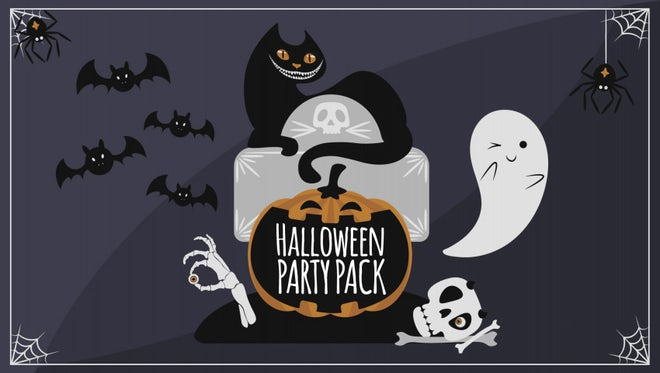 Halloween Party Pack: After Effects Templates