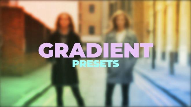 Gradient Presets: Premiere Pro Presets