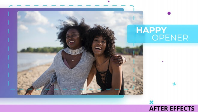Happy Opener: After Effects Templates