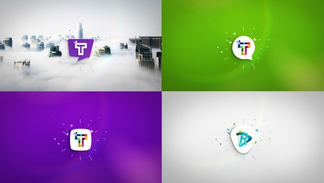 Clean Minimal Logo Reveals: After Effects Templates