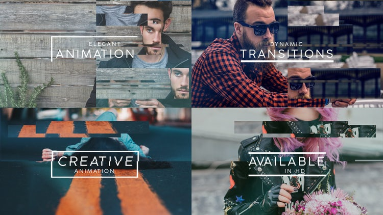 Split Opener: After Effects Templates