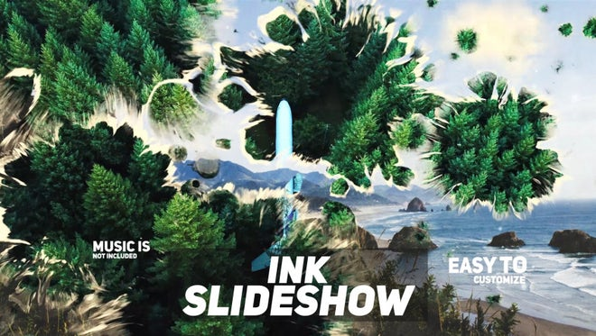 Ink Slideshow: Premiere Pro Templates