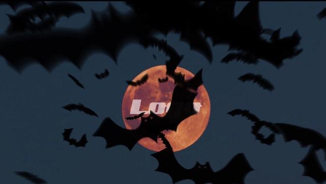 Halloween Bats Logo Reveal: Premiere Pro Templates