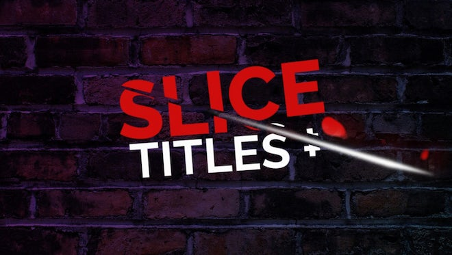 Slice Titles: Premiere Pro Templates
