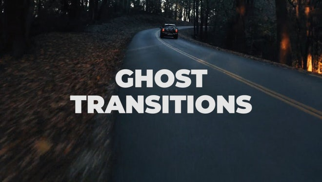 Ghost Transitions: Premiere Pro Presets