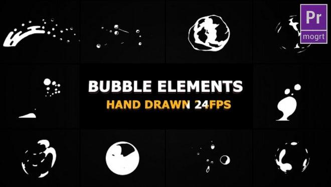 Flash FX BUBBLE Elements: Motion Graphics Templates