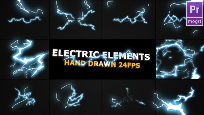 Flash FX ELECTRIC Elements: Motion Graphics Templates