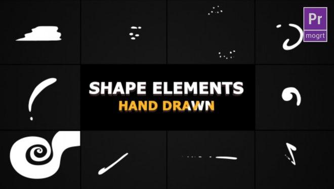 Flash FX Shape Elements: Motion Graphics Templates