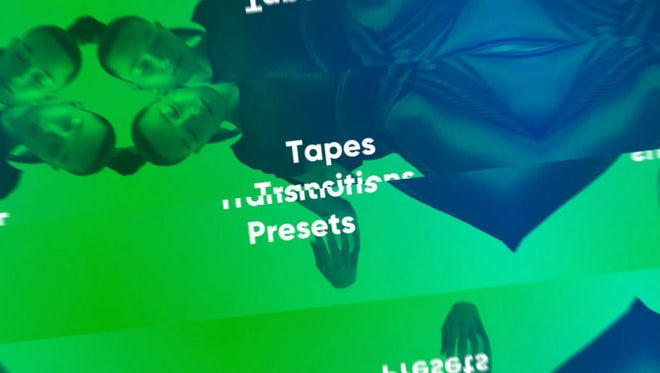 Tapes Transitions Presets: Premiere Pro Presets