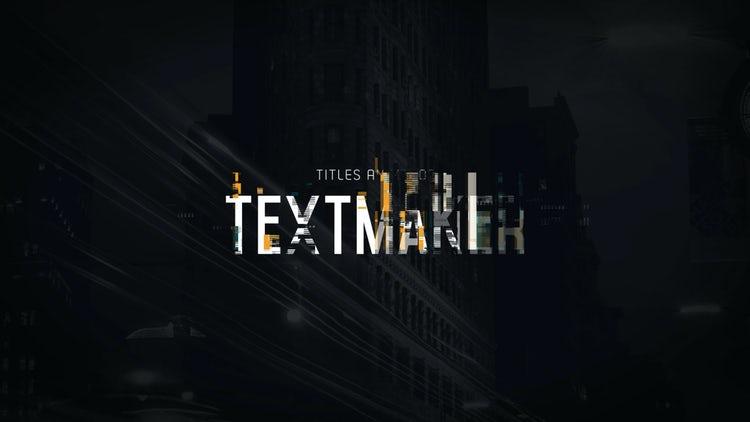 Titles Animator - Digital Glitch: Premiere Pro Templates
