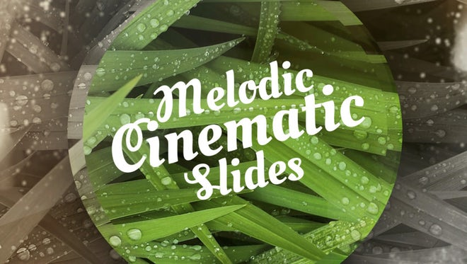 Melodic Cinematic Slides: Premiere Pro Templates
