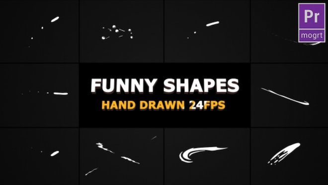 Funny Shapes: Motion Graphics Templates