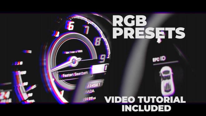 RGB Presets: Premiere Pro Presets