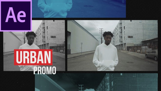 Urban Media Opener: After Effects Templates