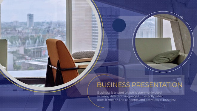 Business Promo Presentation: After Effects Templates