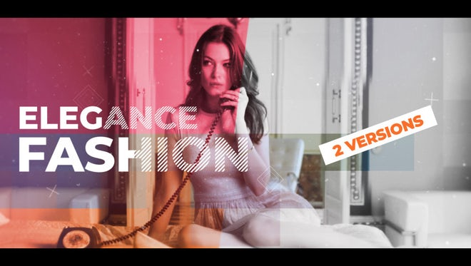 Elegance Fashion: After Effects Templates